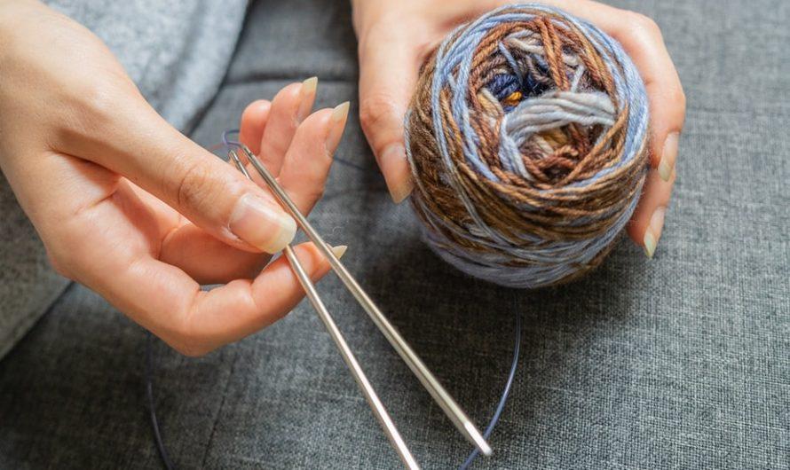 Le tricot simplifié grâce au tricotin circulaire